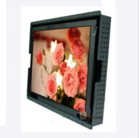Full Color Sun Readable LCD Display For Gas Station , Sunlight Readable Outdoor Display