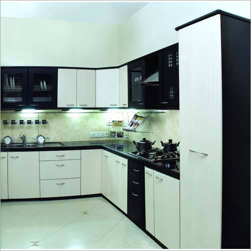 L-Shape Modular Kitchen