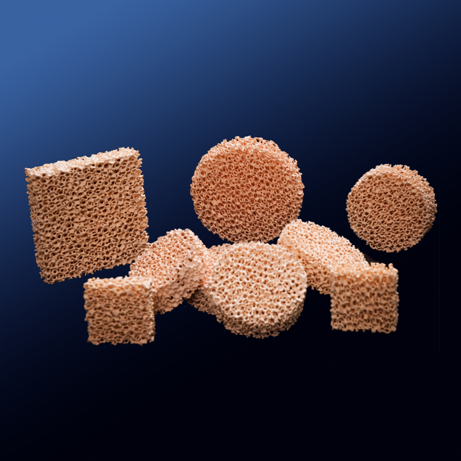 Porous Zirconia Ceramic Foam Filter