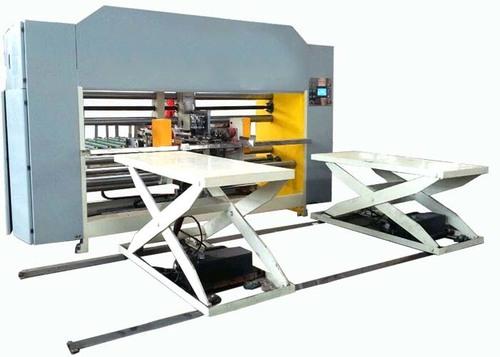 Double Servo Carton Box Stitching Machine Electric Driven Semi Automatic Grade