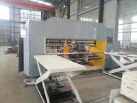 Semi Automatic Corrugated Double Servo Two Piece Stitcher For Carton Box