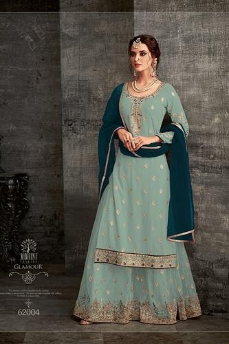 Sharara Style Palazzo Suit