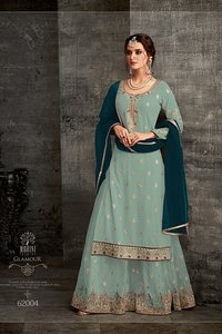 sharara  style suit