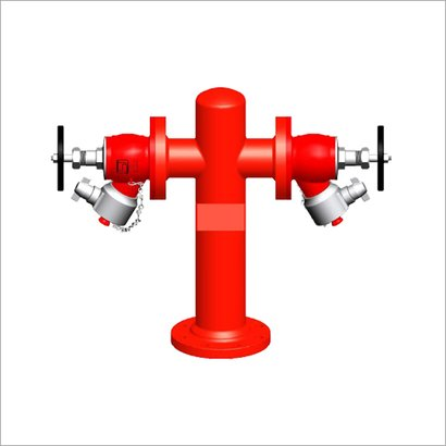 Double Outlet Stand Post Application: Industrial