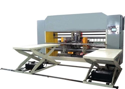 Semi - Auto Double Piece Stitching Machinery For Corrugated Carton Box Making
