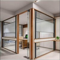 Aluminum Glass Entrance Door