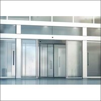 Toughened Glass Automatic Sliding Door