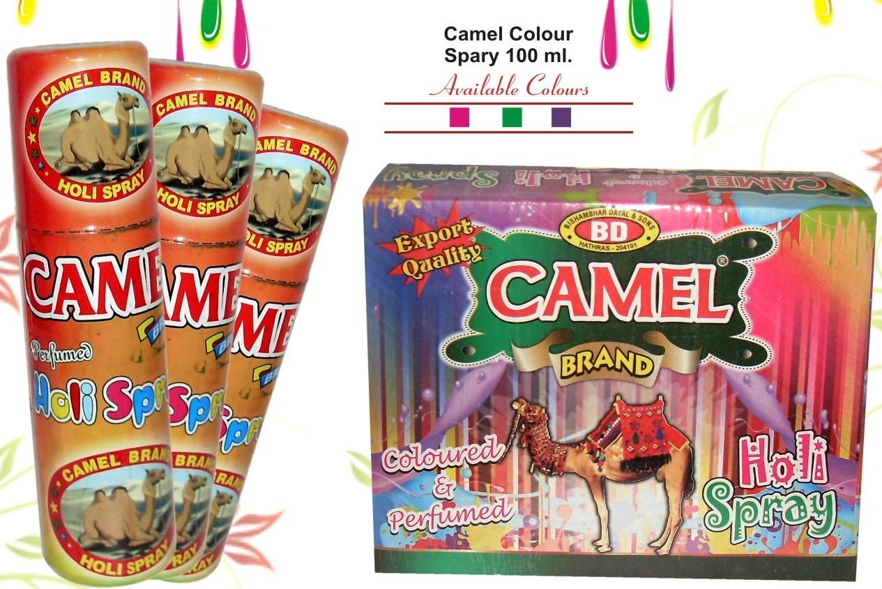 Camel Colour Snow Spray