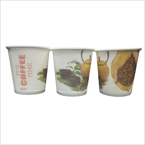 Printed Coffee Glass