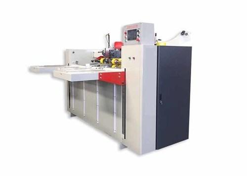 450 Nail/Min Carton Box Stitching Machine , Semi - Auto Corrugated Stitching Machine