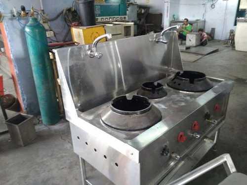 Three burner Chinese