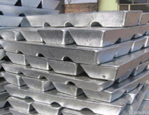 High quality pure zinc ingot