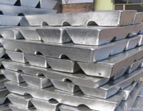 High quality pure zinc ingot