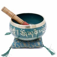 BrassSinging Bowl Tibetan Buddhist Prayer Instrument With Striker Stick | OM Bell | OM Bowl | Meditation Bowl | Music Therapy Singing Bowl