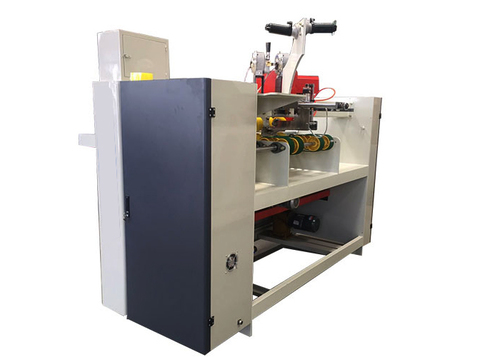 Double Servo One Piece Stitching Machine , Semi Automatic Box Stitching Machine