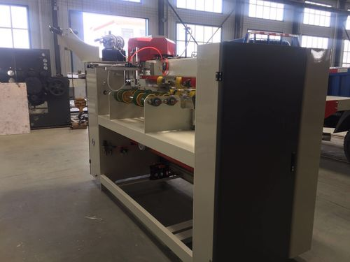 Efficient Double Servo One Piece Stitcher For Single / Double / Reinforced Nail Carton