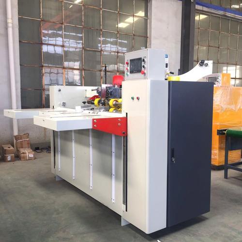 Electric Driven Carton Box Stitching Machine , Double Servo One Piece Stitcher Machine
