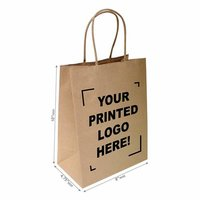 Printed Brown Bags