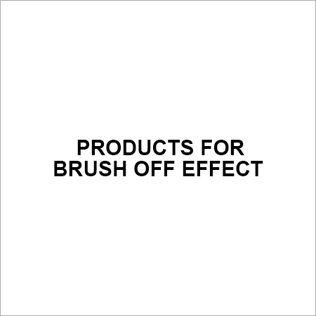 Products for Brush off Effect