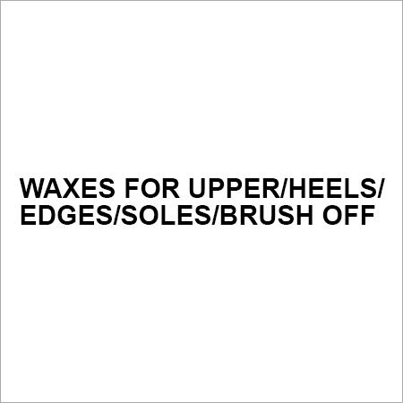 Waxes for Upper Heels Edges Soles Brush Off