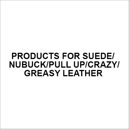 Products for Suede Nubuck Pull Up Crazy Greasy Leather