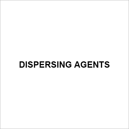 Dispersing Agents