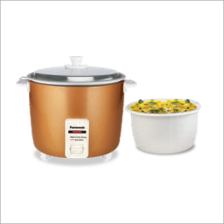 Metallic Automatic Cooker With Additional Pan