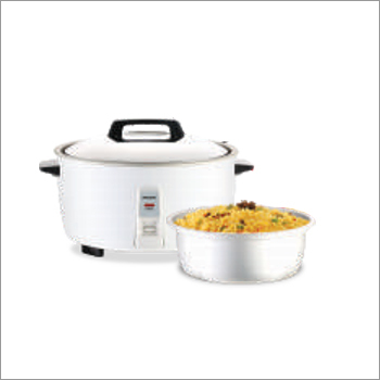 Electric Rice Cooker With Pan