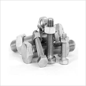 Metal Bolt And Nuts