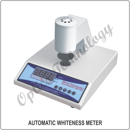 Automatic Whiteness Meter