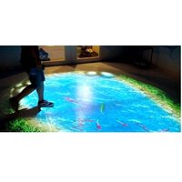 Floor Projection System Interactive Floor Projection game