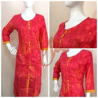 Cotton Straight Fit Kurti