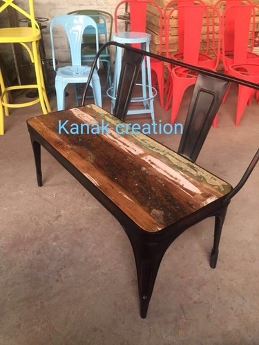 Industrial seating table