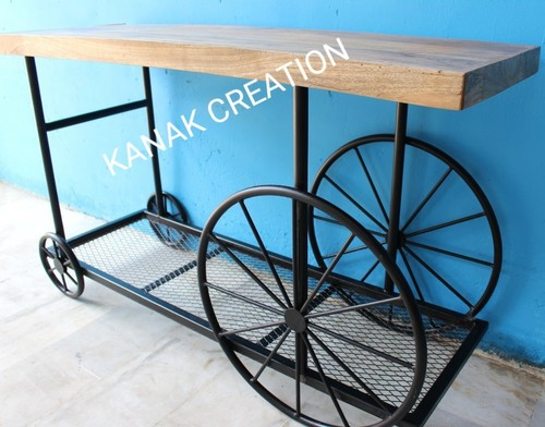 Industrial antique table