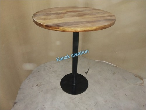 Round wooden Dining Table Industrial Round Dining Table