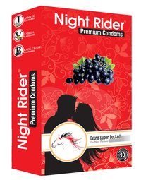 Night Rider Ten Piece Condom Pack
