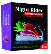 Night Rider Multi Texture Condom