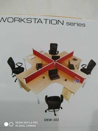 360 DEGREE 4 PERSON WORK STATION