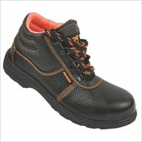 Pvc High Ankle Safety Shoe