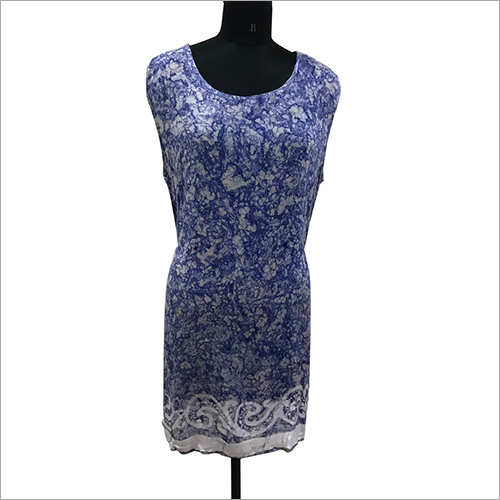 Ladies Rayon Tie Dye Dress