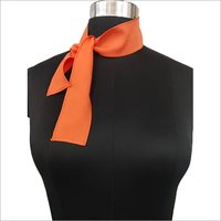 Ladies Polyester Ribbon Scarves