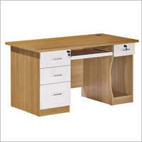 Office Wooden Drawer Table