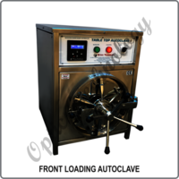 FRONT LOADING AUTOCLAVE