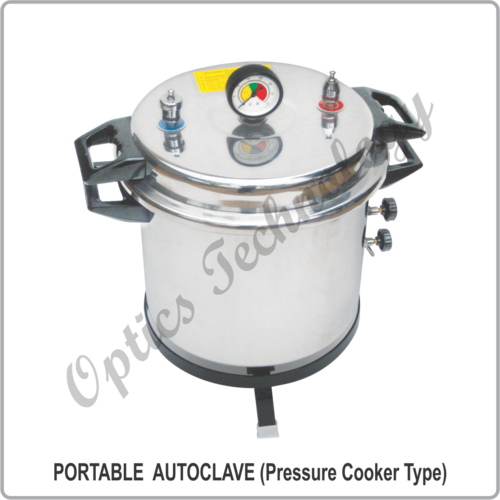 Portable Autoclave ( Pressure Cooker Type)