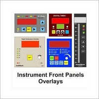 Instruments Front Panels Overlays