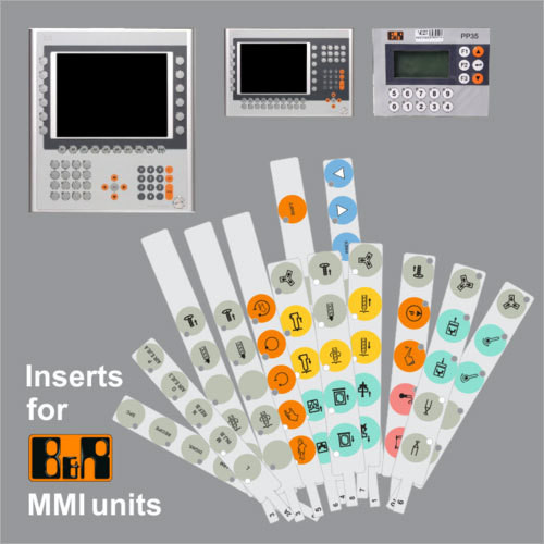 Inserts For B&R MMI Unit