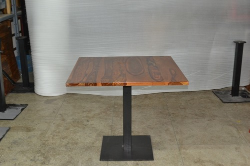 Pedestal Iron Table