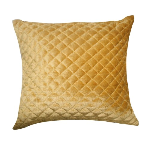 Soft Velvet Quilted Cushion Cover