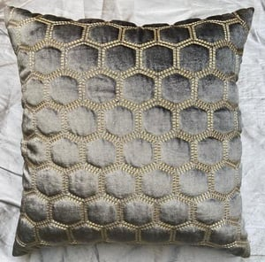 Silk Home Decor  Embroidered Cushion Cover