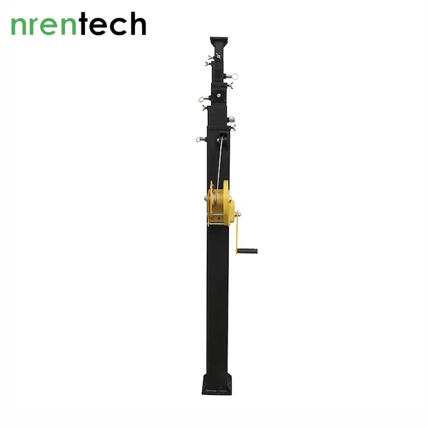 8m Manual Crank Telescopic Mast